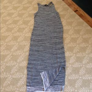 Theory long knit dress